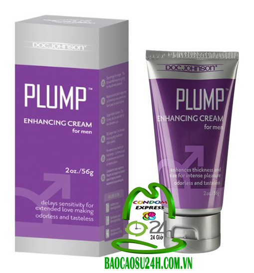 Gel Bôi Cương Dương   Doc Johnson Plump Enhancing Cream for Men