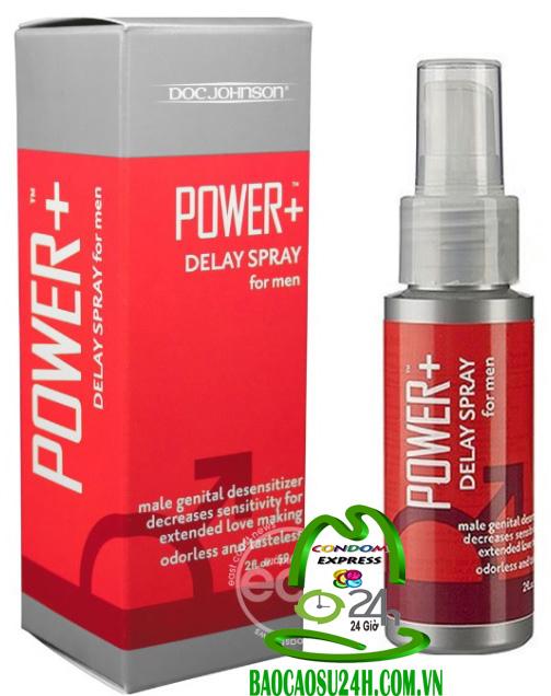 Thuốc Trị Xuất Tinh Sớm  Power Delay Spray For Men