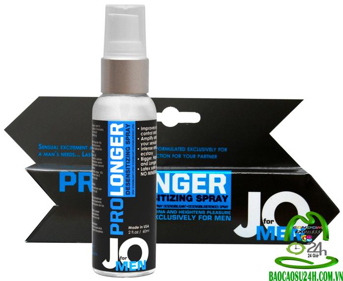 Thuốc Trị Xuất Tinh Sớm JO Pro Longer Desensitizing Spray