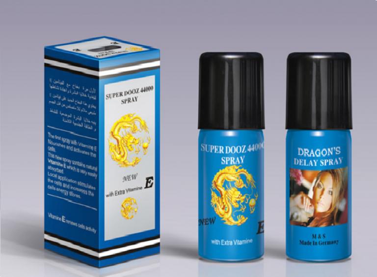 Thuốc Xịt Kéo Dài, Tăng Kích Cỡ, Cương Dương  Dragons 44000 ĐỨC