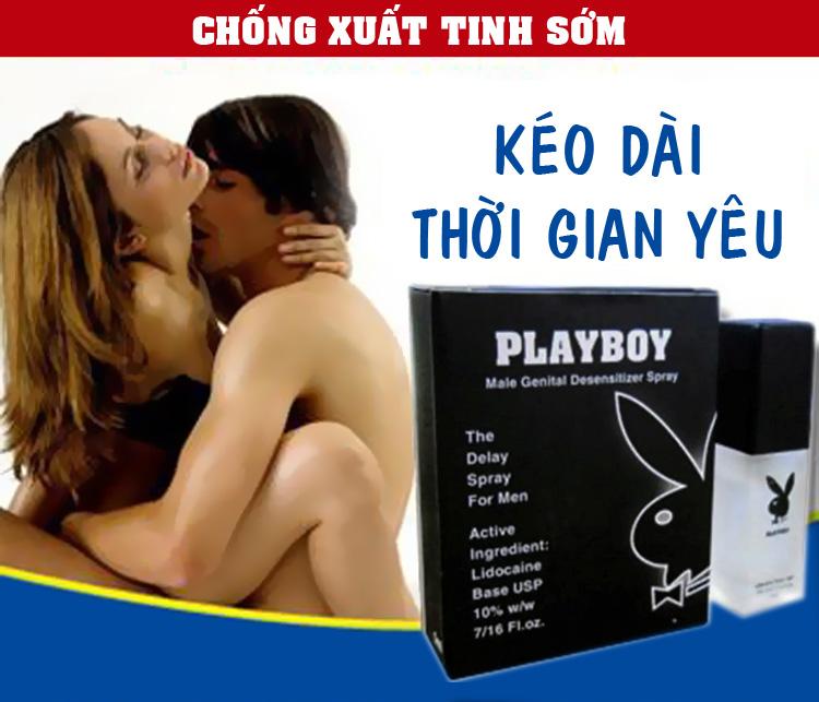 Thuốc Xịt Chống Xuất Tinh Sớm PLayBoy – PlayBoy VIP