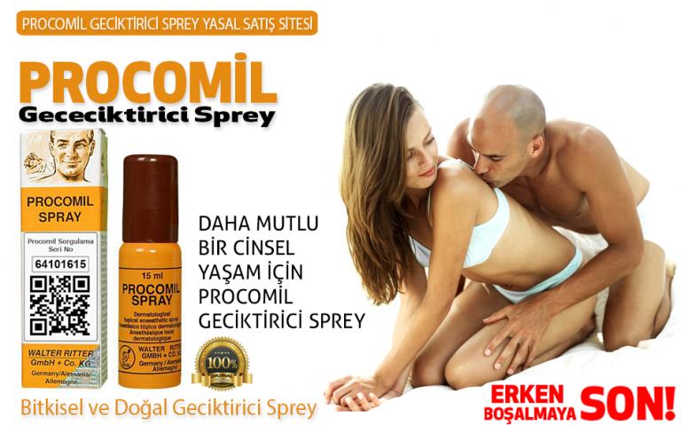 Thuốc Xịt Chống Xuất Tinh Sớm Procomil – Germary (Đức)